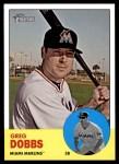 2012 Topps Heritage #456  Greg Dobbs  Front Thumbnail