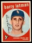 1959 Topps #477  Barry Latman  Front Thumbnail