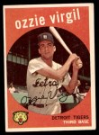 1959 Topps #203  Ozzie Virgil  Front Thumbnail