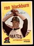 1959 Topps #401  Ron Blackburn  Front Thumbnail