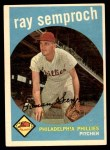1959 Topps #197  Ray Semproch  Front Thumbnail
