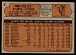 1972 Topps #97  Tom Kelley  Back Thumbnail