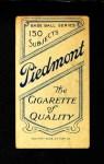 1909 T206  Whitey Alperman  Back Thumbnail
