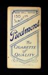 1909 T206 POR Harry Steinfeldt  Back Thumbnail