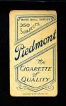 1909 T206  Harry Lord  Back Thumbnail