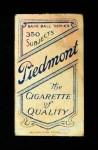 1909 T206 THR Nap Rucker  Back Thumbnail