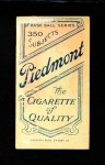 1909 T206  Jimmy Jackson  Back Thumbnail