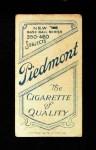1909 T206 CAP Al Bridwell  Back Thumbnail