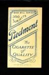 1909 T206 PCH Rube Manning  Back Thumbnail