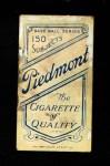 1909 T206 HI Ed Konetchy  Back Thumbnail