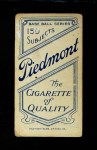 1909 T206  Bull Durham  Back Thumbnail