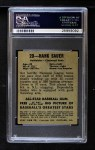 1948 Leaf #20  Hank Sauer  Back Thumbnail