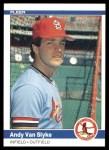 1984 Fleer #339  Andy Van Slyke  Front Thumbnail