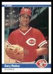 1984 Fleer #481  Gary Redus  Front Thumbnail