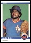 1984 Fleer #594  Junior Ortiz  Front Thumbnail