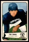 1954 Bowman #97 ERR Tom Finnan   Front Thumbnail
