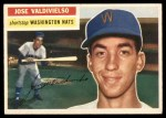 1956 Topps #237  Jose Valdivielso  Front Thumbnail