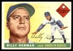1955 Topps #19  Billy Herman  Front Thumbnail