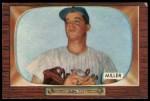 1955 Bowman #245  Bill Miller  Front Thumbnail