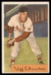1954 Bowman #126  Cliff Chambers  Front Thumbnail