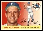 1955 Topps #63  Joe Collins  Front Thumbnail