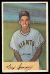 1954 Bowman #185 ERR Daryl Spencer  Front Thumbnail
