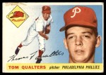 1955 Topps #33  Tom Qualters  Front Thumbnail