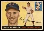 1955 Topps #174  Rudy Minarcin  Front Thumbnail