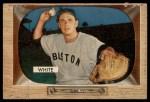 1955 Bowman #47  Sammy White  Front Thumbnail