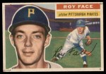 1956 Topps #13  Roy Face  Front Thumbnail