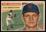 1956 Topps #216  Jerry Schoonmaker  Front Thumbnail