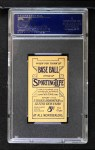 1910 M116 Sporting Life  Billy Purtell  Back Thumbnail
