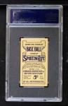 1910 M116 Sporting Life  Bob Bescher  Back Thumbnail