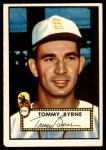 1952 Topps #241  Tommy Byrne  Front Thumbnail