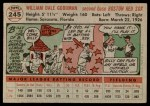 1956 Topps #245  Billy Goodman  Back Thumbnail