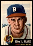 1953 Topps #91  Ebba St. Claire  Front Thumbnail
