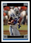 2006 Topps #127  Dominic Rhodes  Front Thumbnail