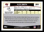2006 Topps #261  Alex Smith  Back Thumbnail