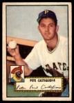 1952 Topps #260  Pete Castiglione  Front Thumbnail