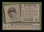 1971 Topps #14  Dave Concepcion  Back Thumbnail
