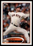 2012 Topps Update #135  Clay Hensley  Front Thumbnail