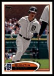2012 Topps Update #229  Quintin Berry  Front Thumbnail