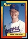 1990 Topps Traded #3 T Brad Arnsberg  Front Thumbnail