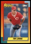 1990 Topps Traded #55 T Tim Layana  Front Thumbnail