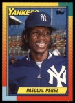 1990 Topps Traded #91 T Pascual Perez  Front Thumbnail