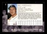 2001 Topps American Pie #8  Bill Freehan  Back Thumbnail