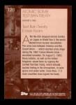 2001 Topps American Pie #120   Atomic Bomb Test Ban Treaty Back Thumbnail