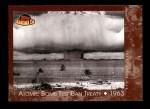 2001 Topps American Pie #120   Atomic Bomb Test Ban Treaty Front Thumbnail