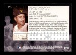 2001 Topps American Pie #23  Dick Groat  Back Thumbnail