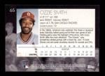 2001 Topps American Pie #65  Ozzie Smith  Back Thumbnail